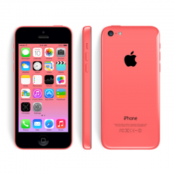 iPhone 5C 16G Lock - Hồng - 99%