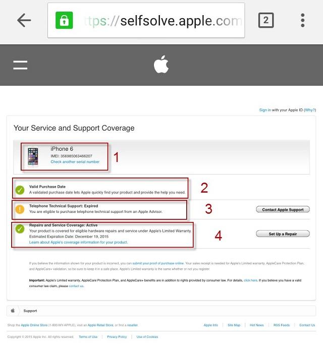 Cách kiểm tra imei iphone ipad chính hãng apple khi mua cũ - 4