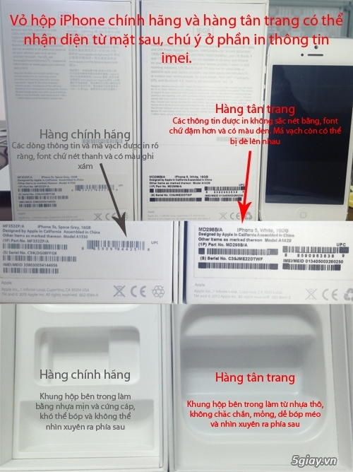 Cách kiểm tra iphone 5 hàng dựng đơn giản và nhanh chóng - 2