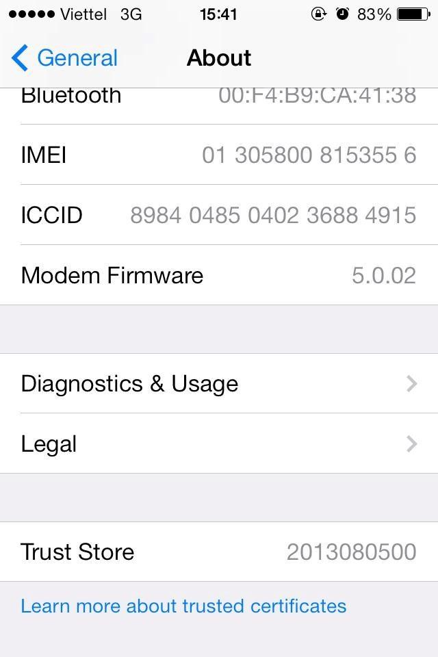 Cách kiểm tra pin iphone cũ - 3