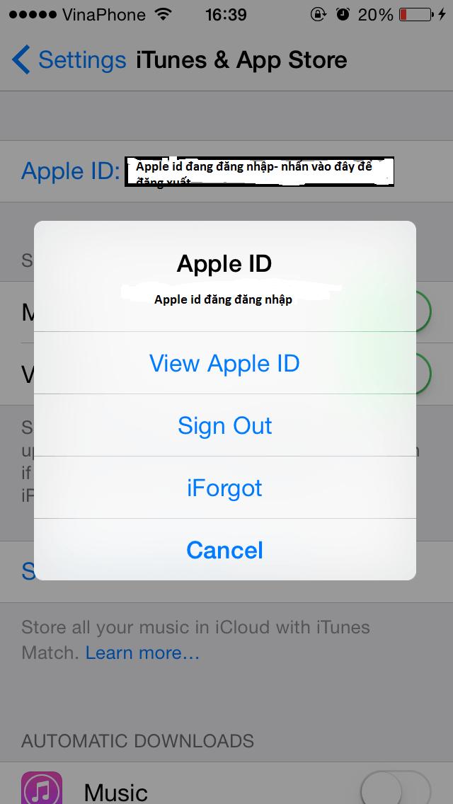Cách tạo id apple free trên ios - 3