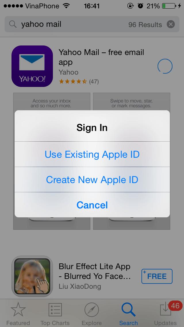 Cách tạo id apple free trên ios - 8