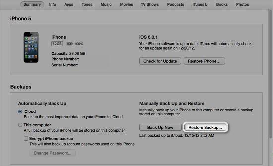 Cách restore iphone khi quên mật khẩu khóa màn hình đăng nhập - 6