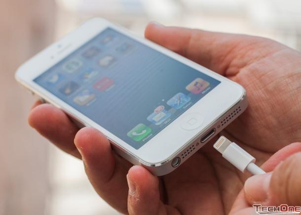 Iphone 5 16g - lock - đen - 99 - 21