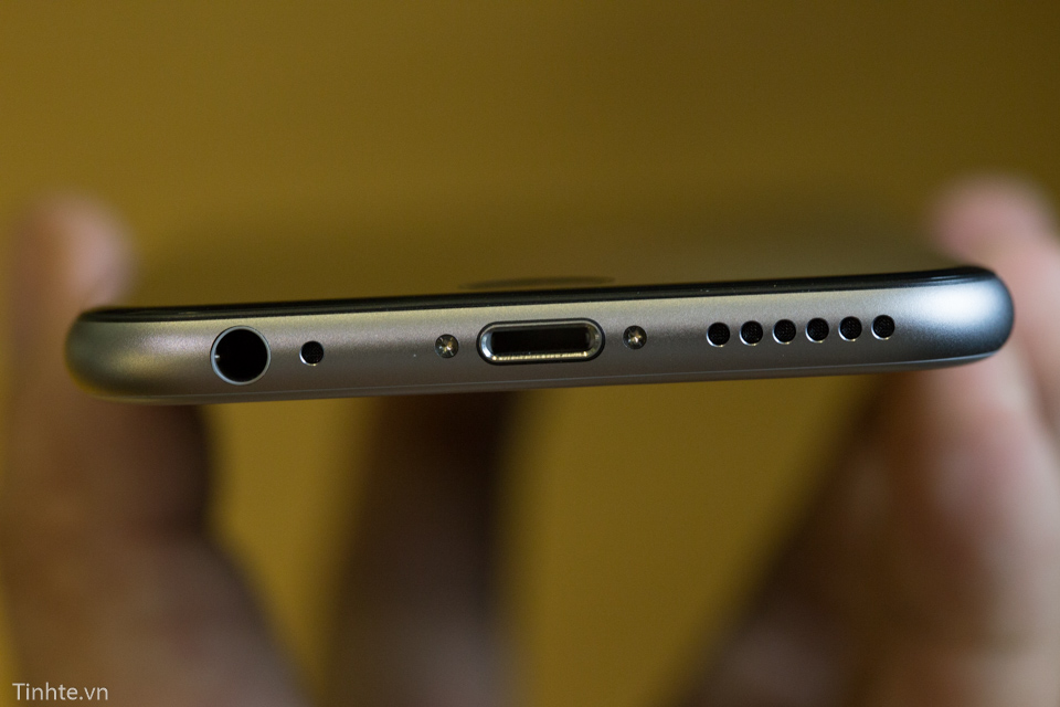 Iphone 6 plus - lock- 16g - vàng - 99 - 14