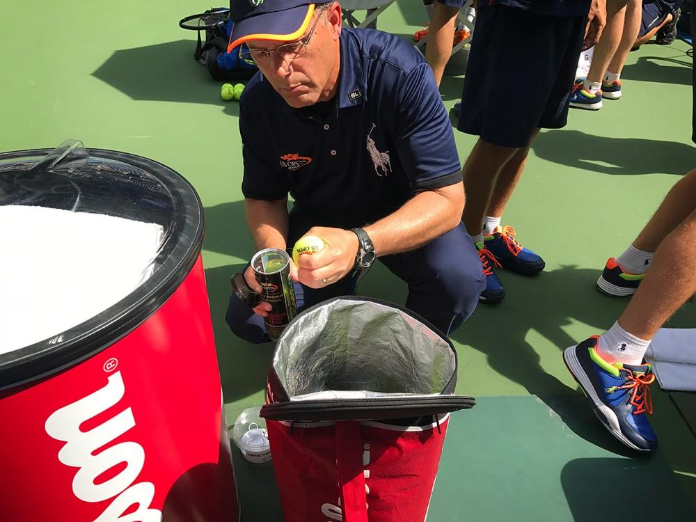 Ảnh chụp bằng iphone 7 plus tại giải tennis us open 2016 bởi landon nordeman - 1