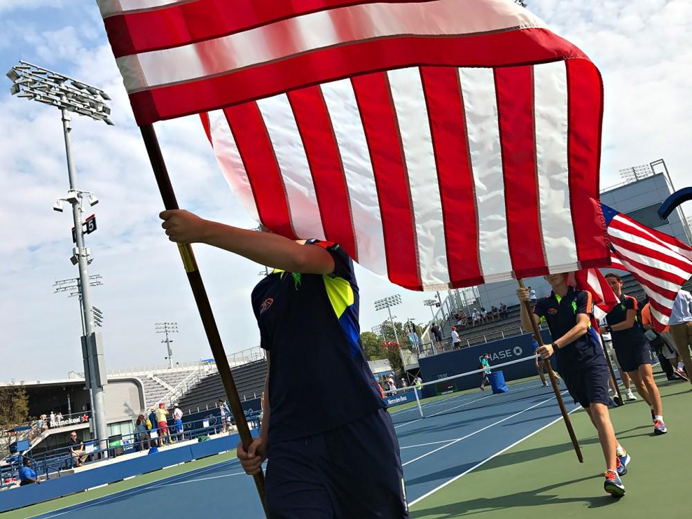 Ảnh chụp bằng iphone 7 plus tại giải tennis us open 2016 bởi landon nordeman - 15