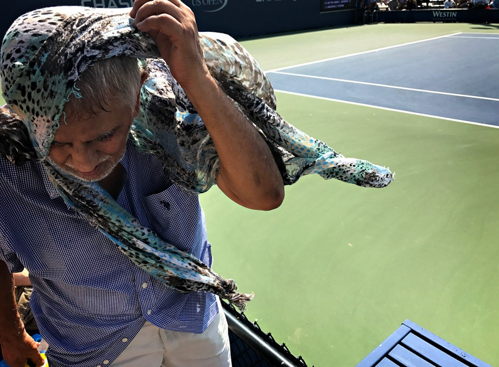 Ảnh chụp bằng iphone 7 plus tại giải tennis us open 2016 bởi landon nordeman - 9