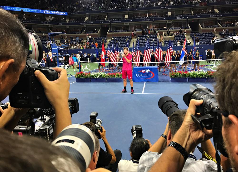 Ảnh chụp bằng iphone 7 plus tại giải tennis us open 2016 bởi landon nordeman - 22