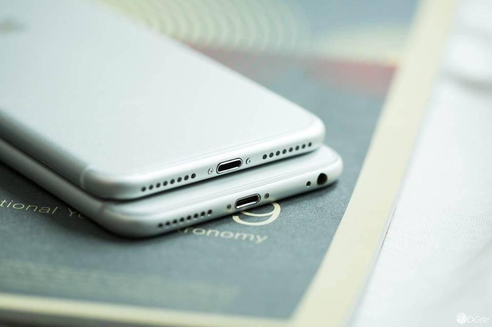 Thay vỏ iphone 6 6s lên iphone 7 chỉ có tại winmobilevn - 1