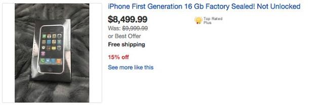 iphone 2g cổ lỗ sỉ có giá tới 190 triệu đồng - 3