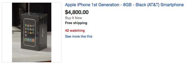 iphone 2g cổ lỗ sỉ có giá tới 190 triệu đồng - 2
