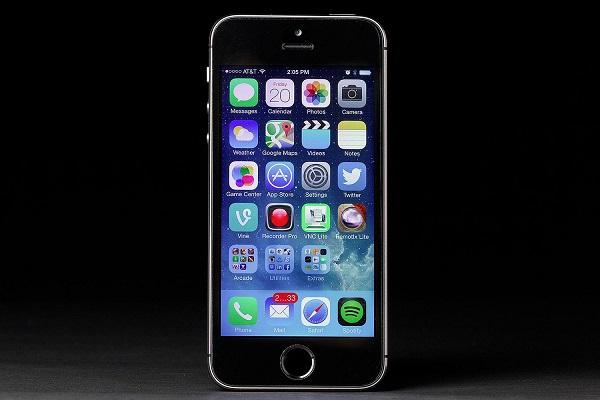 Kiểm tra màn hình iphone 5s chính hãng - 1