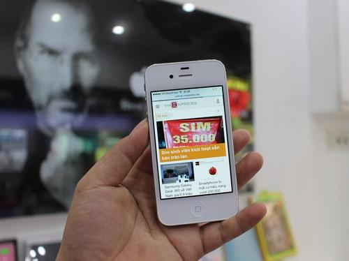 Iphone 4s nguyên seal tái xuất trên thị trường việt nam với giá 32 triệu - 2