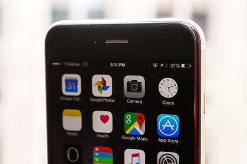 Các sự cố thường gặp trên iphone và cách khắc phục - 1