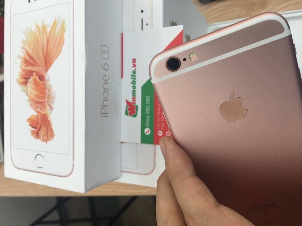 Iphone 6s 16g - lock - vàng - new 100 - 5