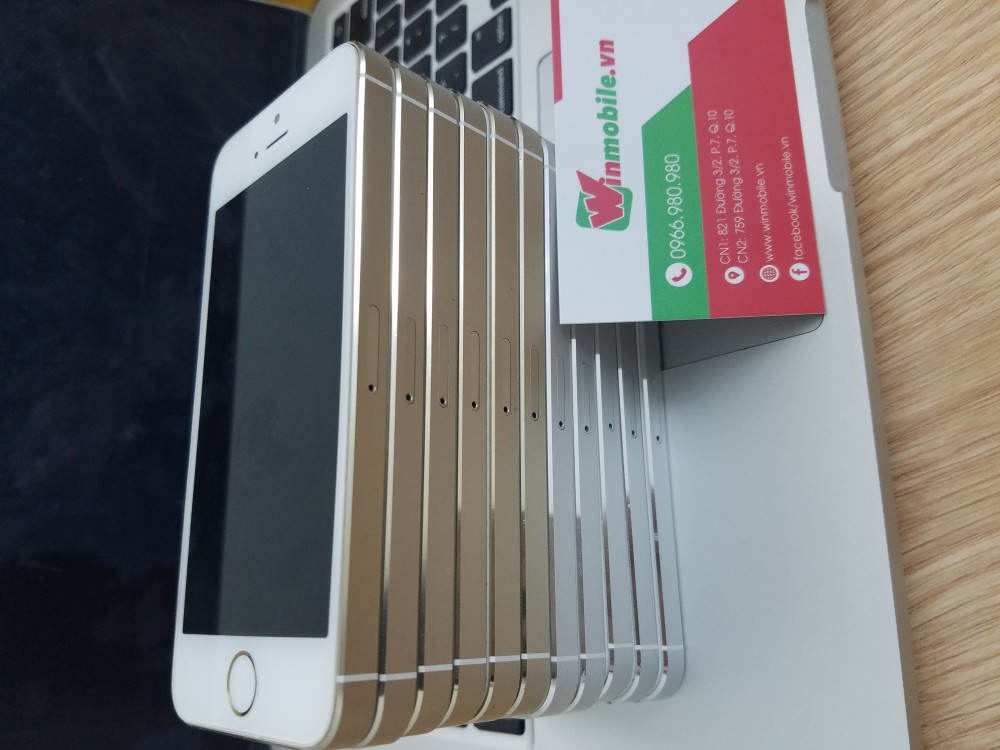 Iphone 5s 16g - lock - gold - 99 - 6