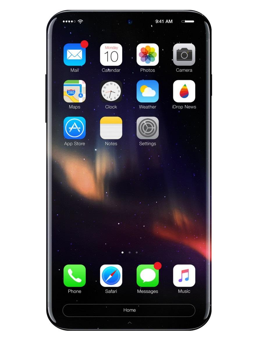 Iphone 8 hỗ trợ sạc không dây và sẽ đẹp như thế này đây - 1