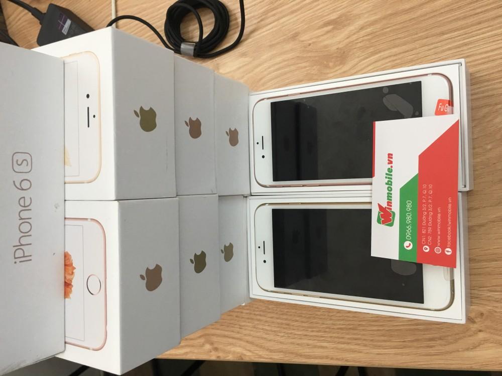 Iphone 6s 16g - lock - vàng - new 100 - 2