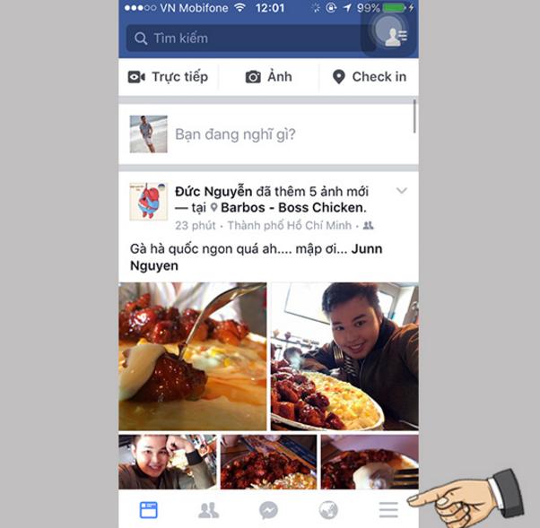Cách tìm kiếm wifi miễn phí của facebook trên ios - 2