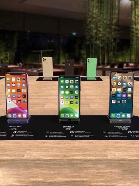Không phải đợi đến tháng 9 để mua được iphone 11 các bác đã có thể mua được chiếc điện thoại này ngay bây giờ tại trung quốc phải công nhận là bên đó họ dựng giống thật các bác ạ d - 1