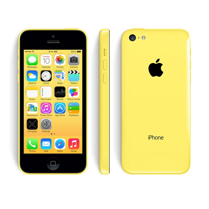 iPhone 5C 16G Lock - Vàng - 99% - 21