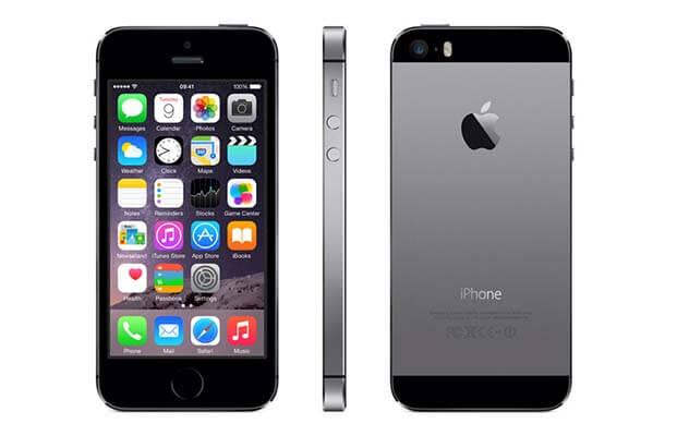 iPhone 5S 16G - Lock - Xám - 99%