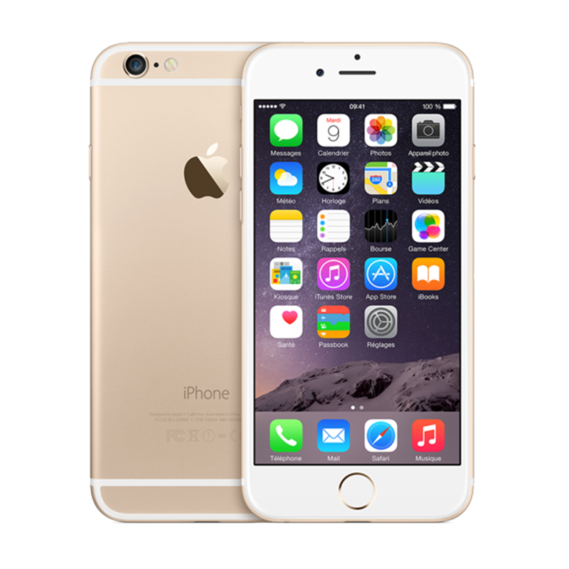 iPhone 6 16G - Lock - Gold - 99%