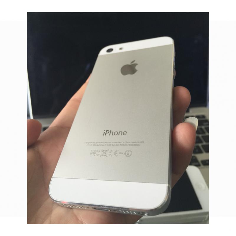 iPhone 5 16G - Quốc Tế - Trắng - 97% - 33