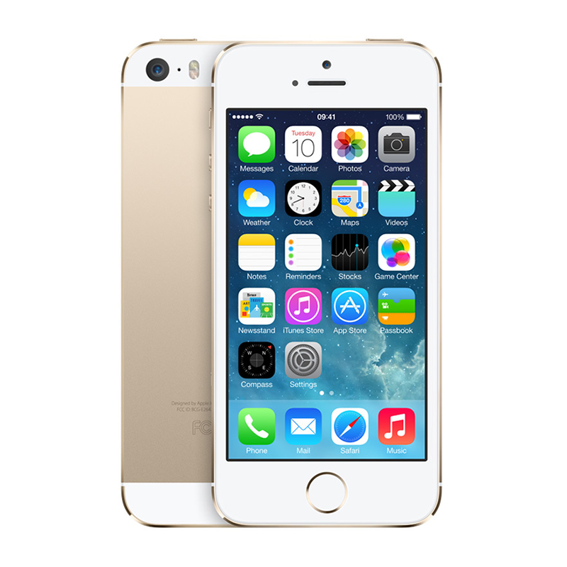 iPhone 5S 64G - Lock - Gold - 99% - 43