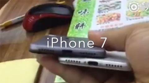 iPhone 7 lộ video mới cùng ảnh thực tế tai nghe Lightning
