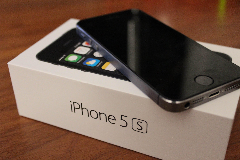 Kiểm tra màn hình iPhone 5S chính hãng