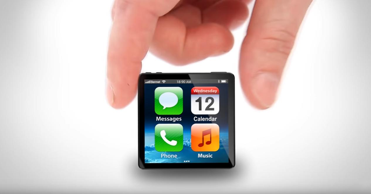 Bạn từng mơ ước 1 chiếc iphone siêu nhỏ như vầy chưa?