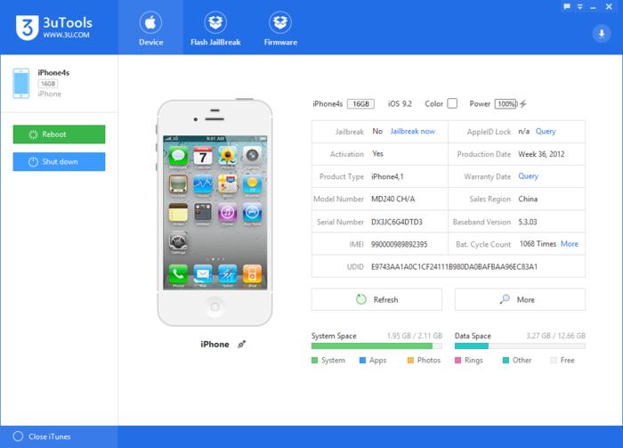 Copy, cài đặt, jailbreak cho iOS từ máy tính với 3uTools