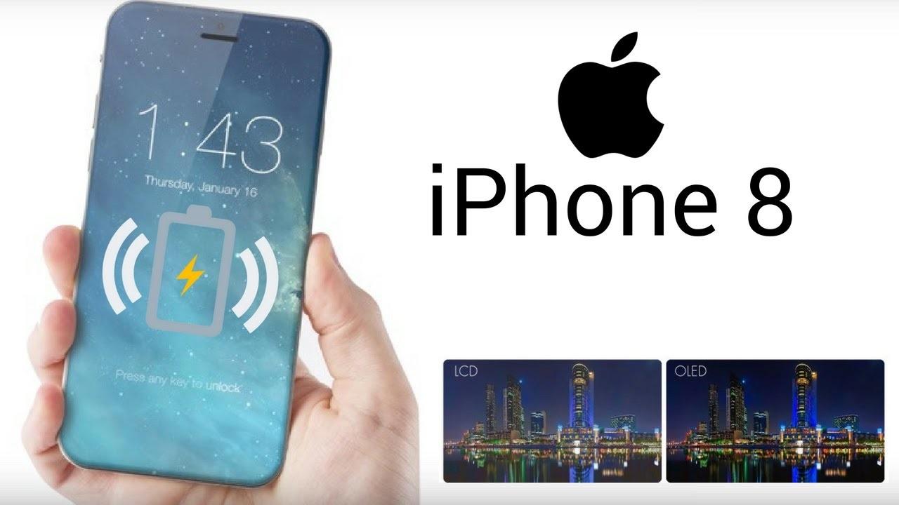 iPhone 8 hỗ trợ sạc không dây và sẽ đẹp như thế này đây