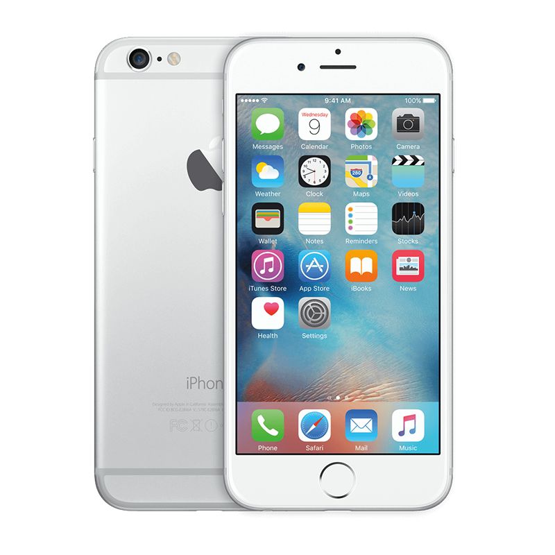iPhone 6 Plus - Lock- 16G - Trắng - 99%
