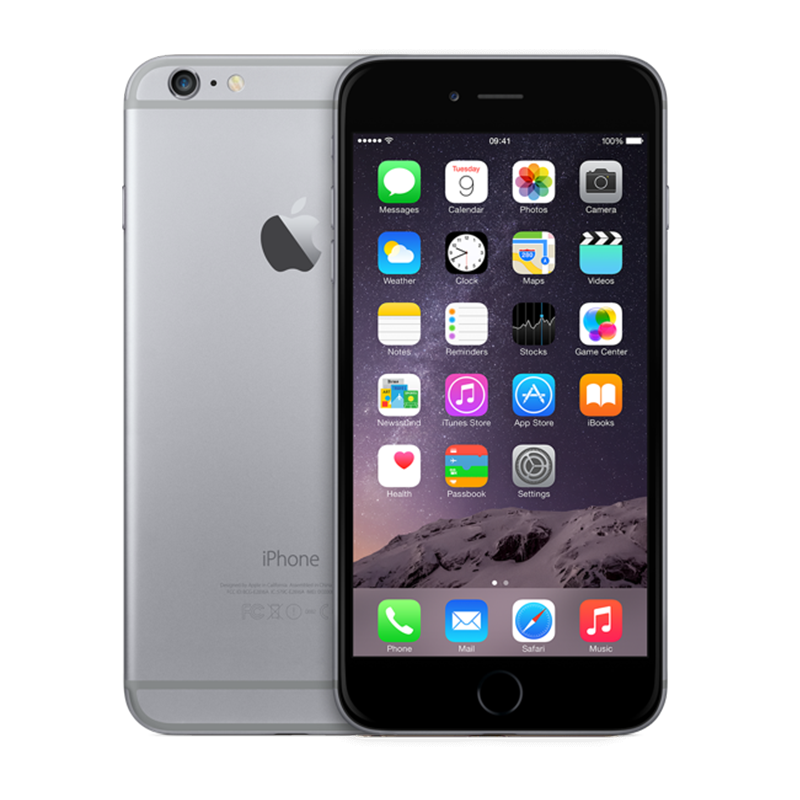 iPhone 6 Plus - Lock- 64G - Gray - 99%