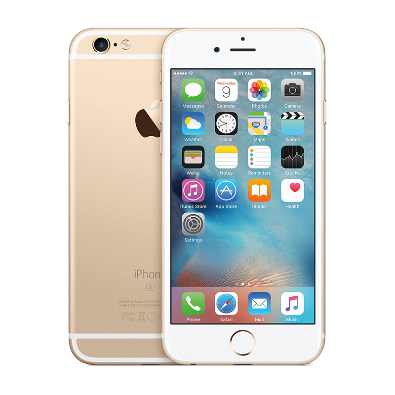 iPhone 6S 64G - Lock - Gold - 99% - 59
