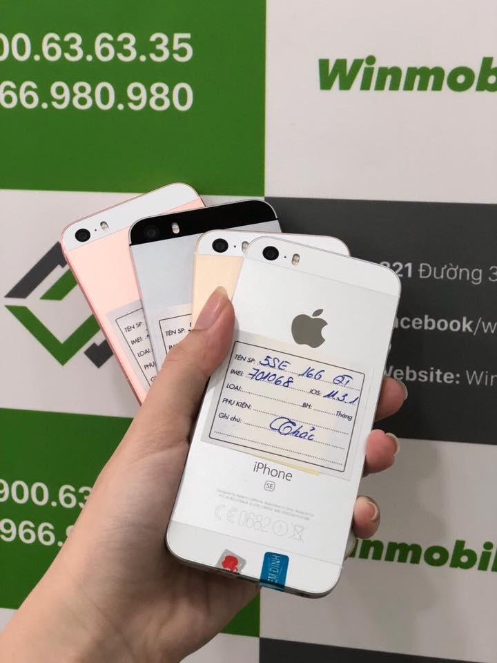 IPHONE 5 SE 16G - Quốc tế - VÀNG (Loại C 96%) - 1048